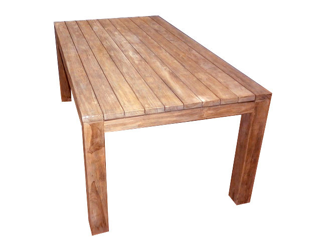 Indonesian Furniture Dining Tables Solid Teak Manufacturer And Export - Indonesian teak dining table