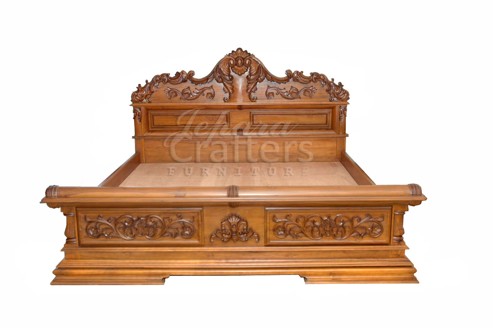 Teak Bedrooms furniture – Teak colonial bed