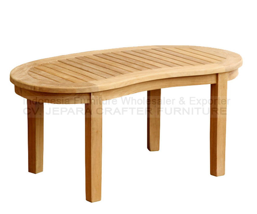 Wholesale Furniture Outdoor Teak Garden Patio Peanut Coffee Tables