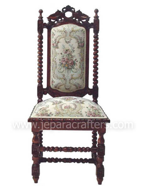 Wondrous Classic Vintage Mahogany Furniture Indonesia Dining Chairs Bralicious Painted Fabric Chair Ideas Braliciousco