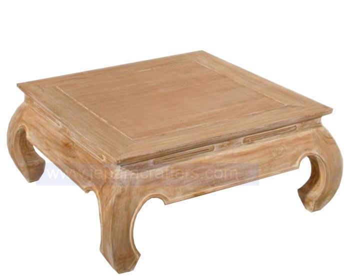 Simple Coffee Table Solid Teak Wood Indonesian Furniture Exporter