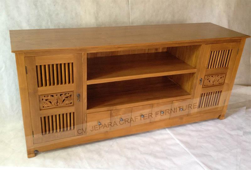 Wholesaler Exporter Indonesian Wood Furniture Sideboard Table Tv