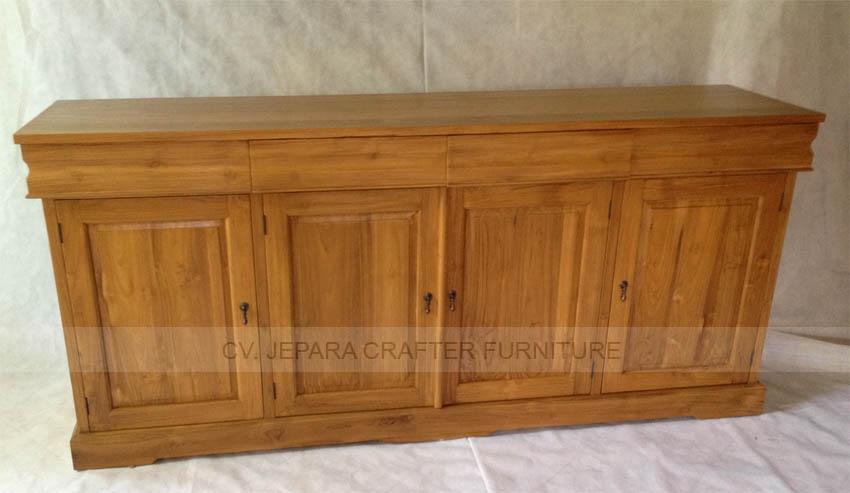 Wholesale buffet sideboard solid teak wood indonesia