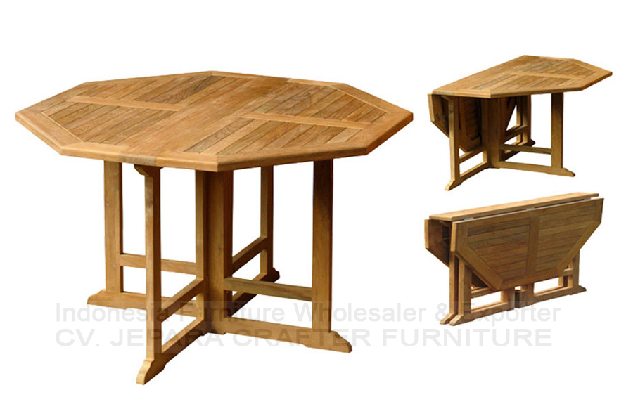 Teak Outdoor Furniture Indonesia Wholesale Butterfly Dining Tables