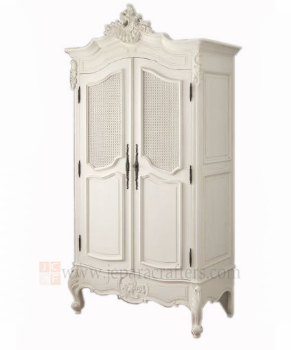 wooden furniture french painted louis antiques armoire. Black Bedroom Furniture Sets. Home Design Ideas