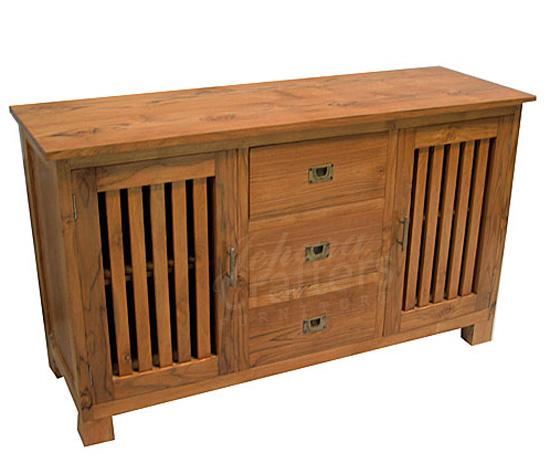 Teak buffet and sideboard furniture