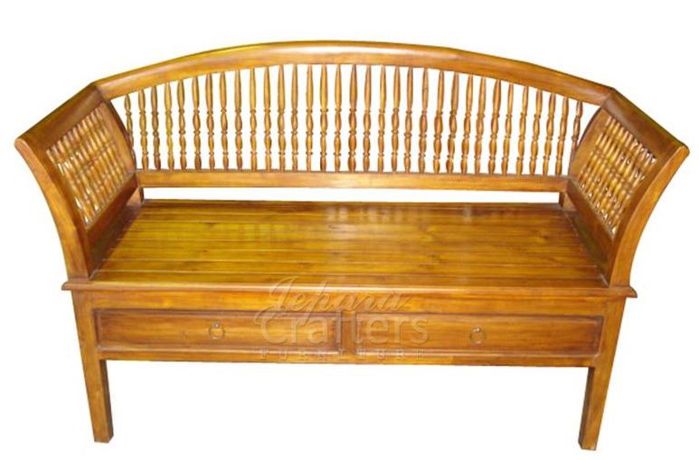 Teak Benches Carving Teak Daybed Antique Furniture