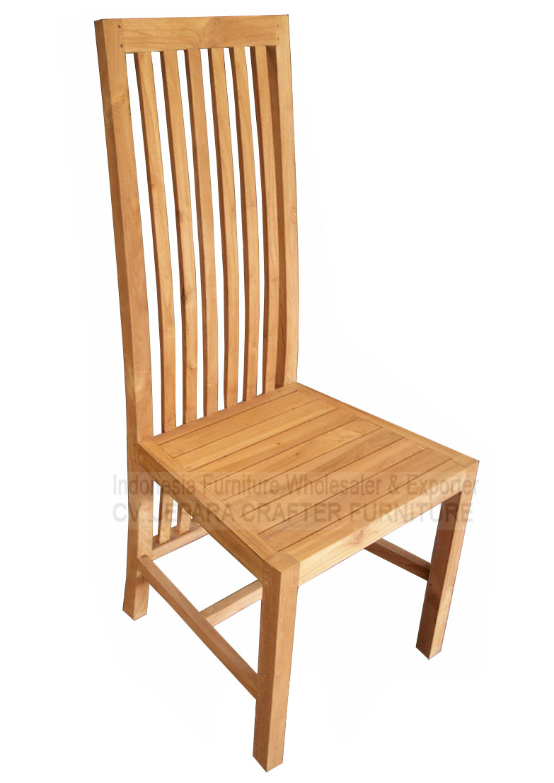 Manufacturer Indonesian Teak Indoor Dining Room Chairs And Good Price