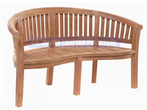 PEANUT BENCH ROUNDED TOP STD