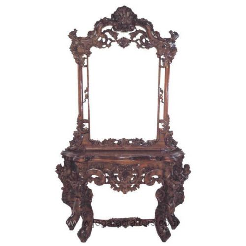 Hard Baroque Carving Dressing Tables MH-DM010