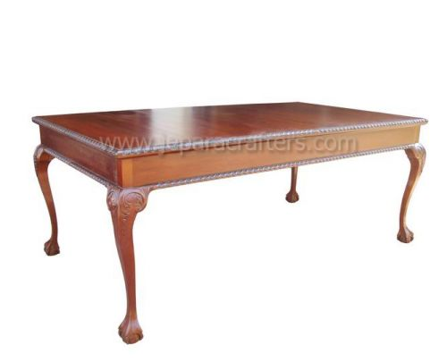 Rect Chippendale Dining Table MH-DT008
