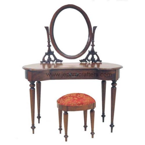 Mahogany French Oval Dressing Tables MH-DM004