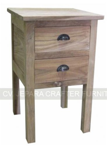 Simple Nightstand Lamp Table