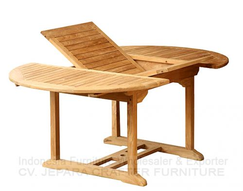 OVAL EXTENSION TABLE 100