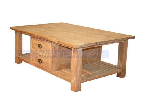 COFFEE TABLE STORAGE  2 DRAWERS