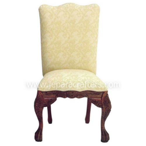 Mahogany Chairs Upholstered Fabric MH-CH016
