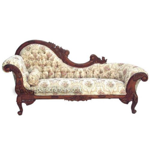 Mahogany Flower Carver Sofa MH-SF004