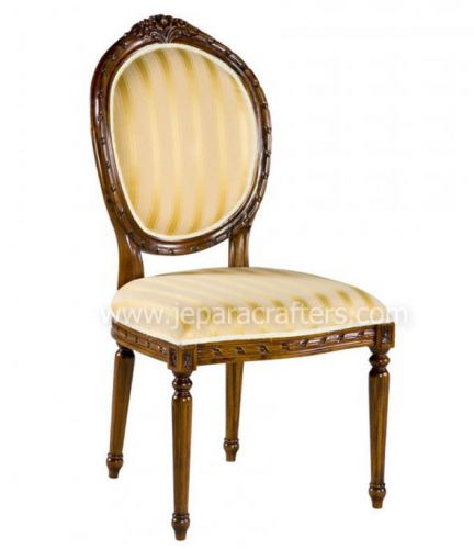 Mahogany French Oval Carver Dinner Chairs MH-CH010