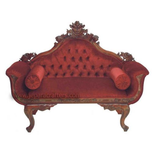 Mahogany Wedding Sofa Flowers MH-SF007