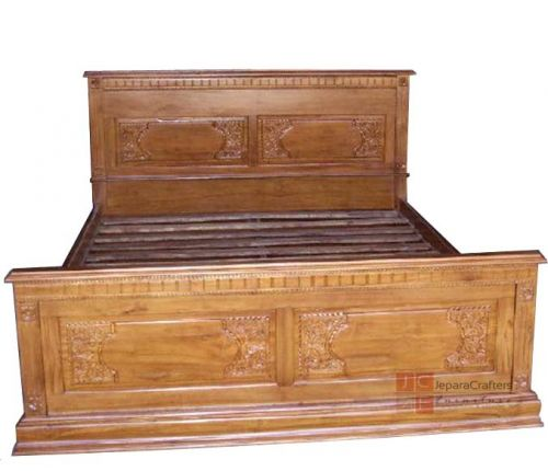 Majapahit Traditional Jepara Carving Bed