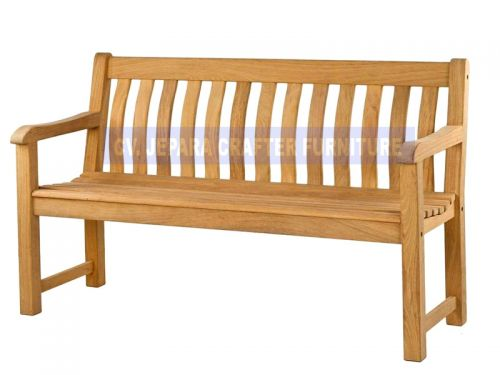 JAVA BENCH CURVED BACK 150