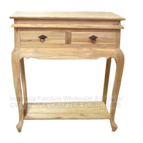 CONSOLE TABLE 2 DRAWERS GARENGAN JFWCT-005