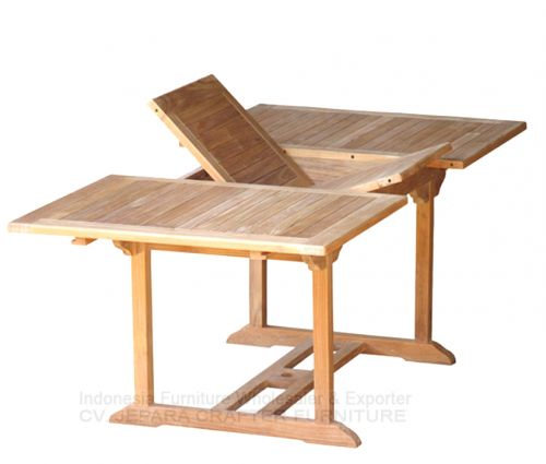 RECTANGULAR  EXTENSION TABLE 100