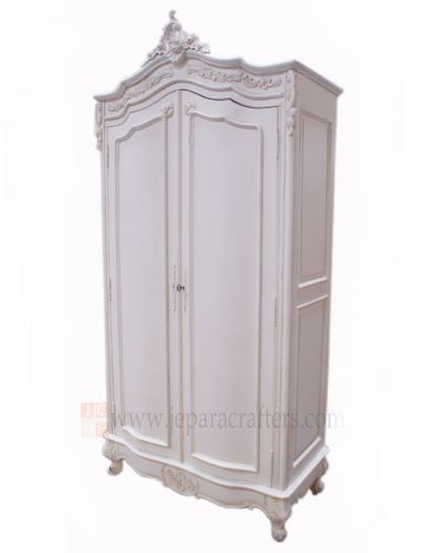 Louis Carving Armoire Wardrobe 2 doors FS-AW001