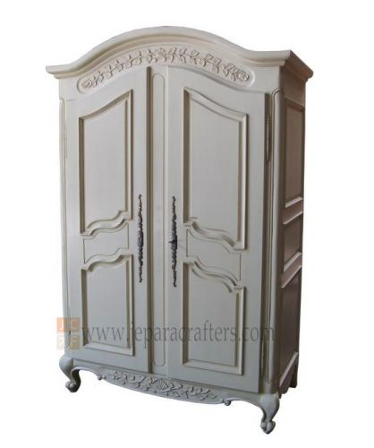 Melati Carved Wardrobe 2 doors FS-AW004