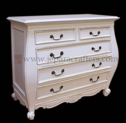 olanda Cabinet 5 Drawers Curve FS-CDS008