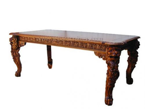 Mahogany Lion King Dining Tables MH-DT011