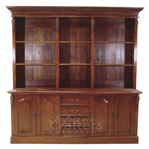 Mahogany Bigest Open Bookcase Cabinet MH-BC012