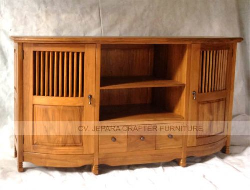 Tv Table Teak Wood Furniture Indonesia Wholesale Direct Warehouse