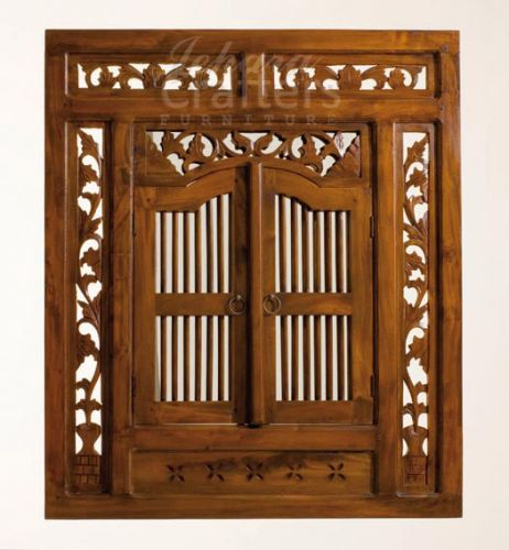 Teak Carving Mirror TIMR018