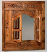 Indonesian Furniture Bedrooms Teak Wood Dressing Tables And Mirror