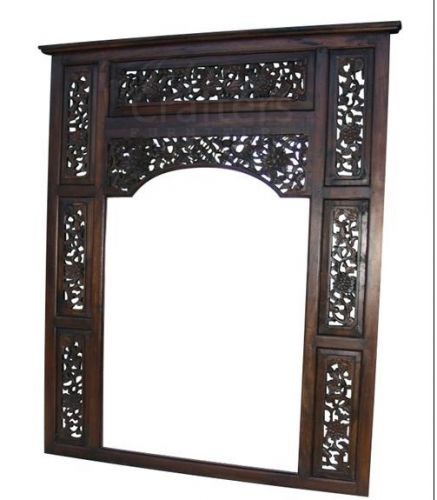 Teak Carving Mirror TIMR023