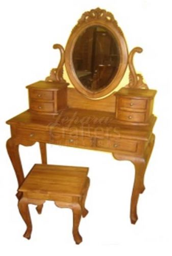 Teak Dressing Table Mirror TIMR007