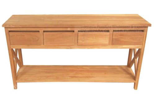 BIG CONSOLE TABLE 4 DRAWER