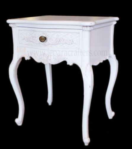 Melinda Nightstand Drawer Carved FS-NSB003