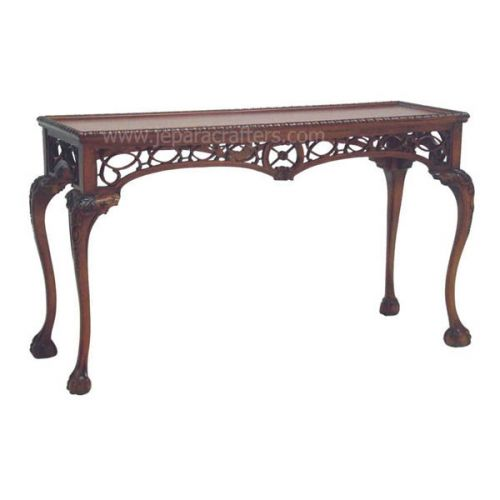 Chippendale Carving Console Tables MH-WT012
